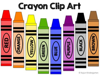 Crayon Clip Art (Back to School)