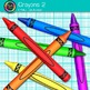 Rainbow Crayon Clip Art {Back to School Supplies for Class