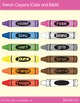 Crayon Clip Art in French