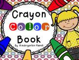 Crayon Color Book