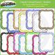 Crayon Colored Frames / Borders Bundle