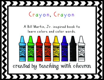 Crayon, Crayon - A Book About Colors