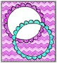 Crayon Doodle Frame Trio - Squares, Circles, and Rectangles