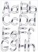 Crayon Letters - Clipart