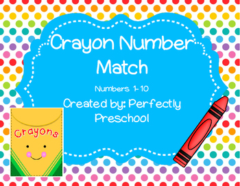 Crayon Number Match