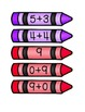 Crayon Number Match, Numbers 1-20