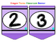 Crayon Theme Letters and Numbers Banner