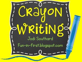 Crayon Writing