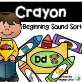 Crayons Beginning Sounds