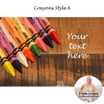 Crayons Style 6