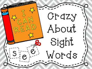 Crazy About Sight Words...Focus on See