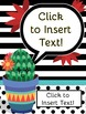 Crazy Cacti Music Room Theme - Binder Covers, Rhythm and Glues