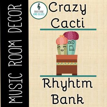 Crazy Cacti Music Room Theme - Rhythm Bank, Rhyhtm and Glues