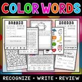 Color Words Workbook