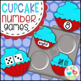 Crazy Cupcake Number Games