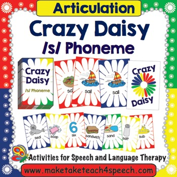 S Phoneme- Crazy Daisy Card Game