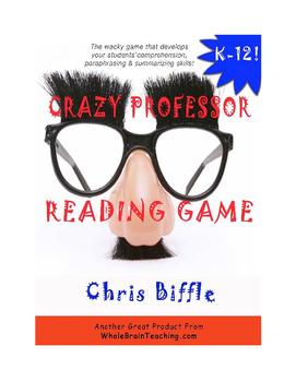 Crazy Professor Reading Game