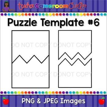 Crazy Puzzle Pack - Puzzle Template #6