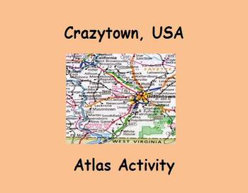Crazytown, USA Atlas Activity