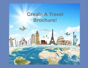 Create A Country Travel Brochure