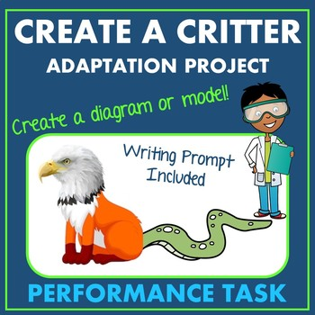Create A Critter Animal Adaptation Ecosystem Project