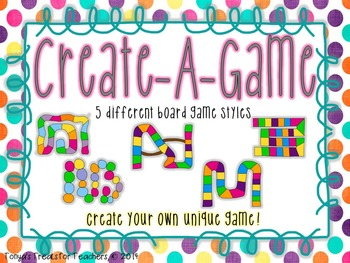 Create-A-Game~5 different board games