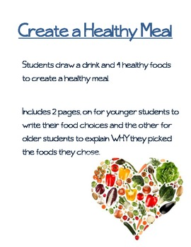 Create A Healthy Meal