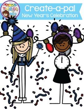 Create-A-Pal New Years Set