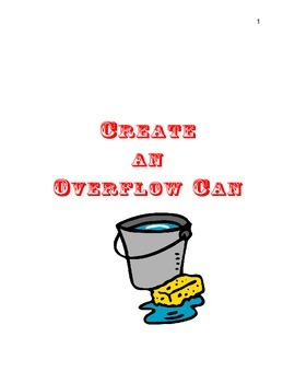Create An Overflow Can