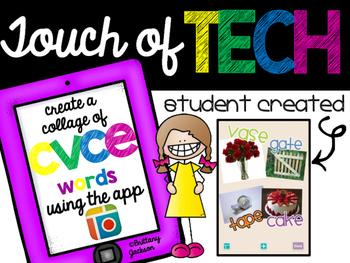 Create CVCe Collages using iPad app Pic Collage