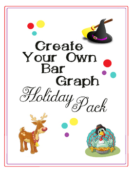 Create Your Own Bar Graph Holiday Pack