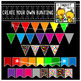 Create Your Own Bunting Bundle (For Use On Black Or Dark B