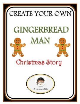 Create Your Own Christmas Gingerbread Man Story Book