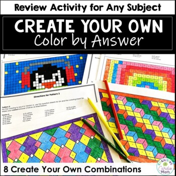 Create Your Own Coloring Activity #2 - For Any Subject!