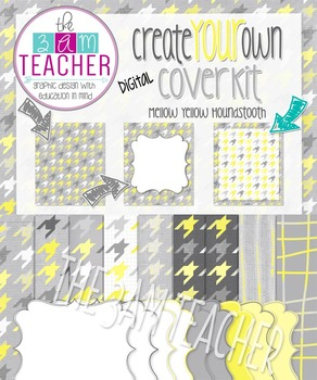 Create Your Own Digital Cover Kit: Mellow Yellow Digital P