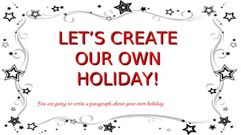 Create Your Own Holiday Writing Power Point