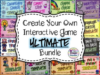 Create Your Own Interactive Games ULTIMATE Bundle