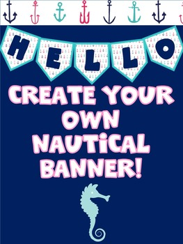 Create Your Own Nautical Banner