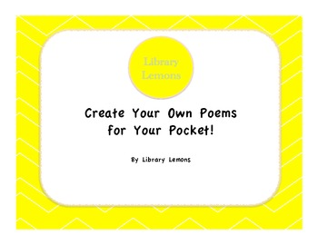 Create Your Own Poems for Your Pocket!