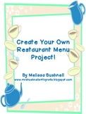 Create Your Own Restaurant Menu!