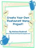 Create Your Own Restaurant Menu!