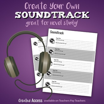 Soundtrack Activity [create soundtracks to books or just f