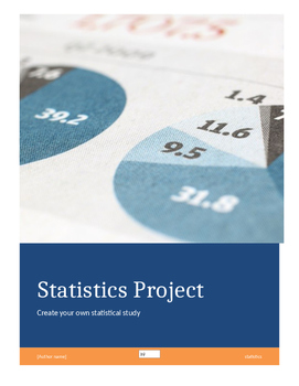 Create Your Own Statistics Project