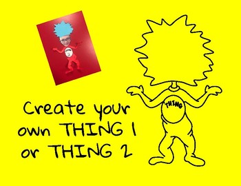 Create Your Own Thing 1 or Thing 2