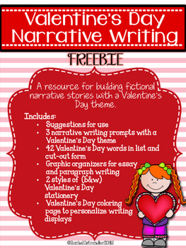 Valentine's Day Narrative Writing