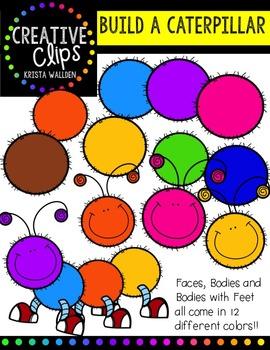 Create a Caterpillar {Creative Clips Digital Clipart}