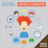 Create-a-Character Digital ClipArt