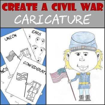 Civil War  -  Create a Civil War Caricature  -  Soldier Ca