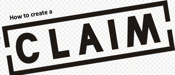 Create a Claim ELA Lesson Plan, Activity, & Handout. COMMO