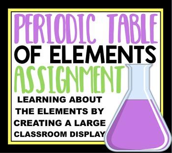 Create a Classroom Periodic Table:  Collaborative Classroo